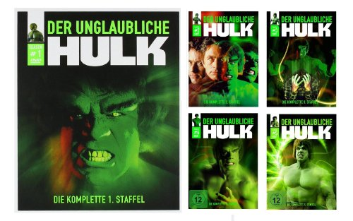 The Incredible Hulk The Complete Collection [Blu-ray]
