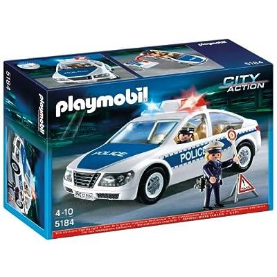 Playmobil 5184 - Policía: coche de policía luces de Playmobil