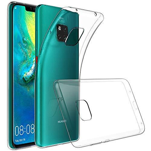 GeeRic Für Huawei Mate 20 Pro Hülle Silikon, Ultra Thin Tasche Cover Schlank Weich Flexibel Anti-Kratzer Schutzhülle Abdeckung Case Transparent für Huawei Mate 20 Pro (6,39 Zoll)