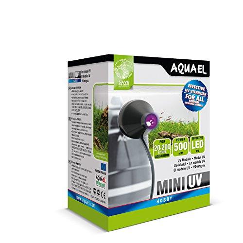 Aquael Lámpara led UV Mini 5905546133999para acuarios