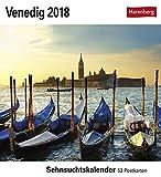 Venedig - Kalender 2018: Sehnsuchtskalender, 53 Postkarten -