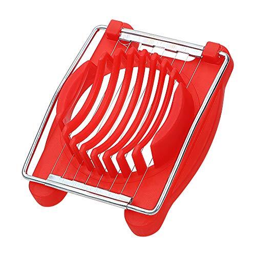 Staeless Manuelle Küchenmaschine Küchenhelfer Eierschneider Kochwerkzeuge rot