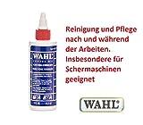 Premium Maschinenöl / Scherkopföl. Für Reinigung und Pflege. Insbesondere wichtig bei der Tierschur für eine notwendige Ölung des Schneidsatzes! 40572