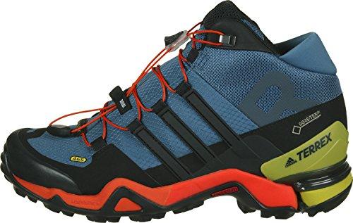 adidas Terrex Fast R Mid Gtx, Stivali da Escursionismo Uomo Blu (Azubas/Negbas/Energi)