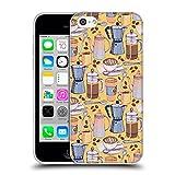 Offizielle Micklyn Le Feuvre Kaffee Liebe Und Gelb Muster 2 Soft Gel Hülle für Apple iPhone 5c