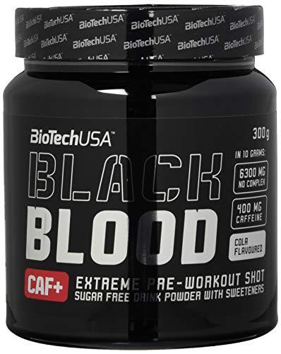 Biotech USA Black Blood CAF+ (400mg Koffein / 6300mg NO COMPLEX) - Cola - 300g