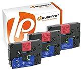 Bubprint 3 Schriftbänder kompatibel für Brother TZE-431 TZE 431 für P-Touch 1280 2430PC 2730VP 3600 9500PC 9700PC D400VP D600VP H100LB H105 P700 P750W