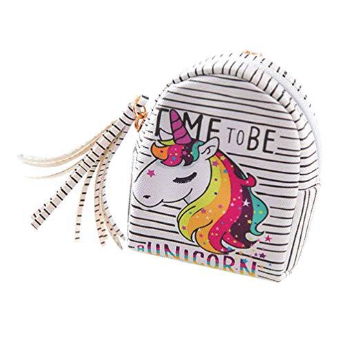 Monedero de Unicornio para Mujer y niña