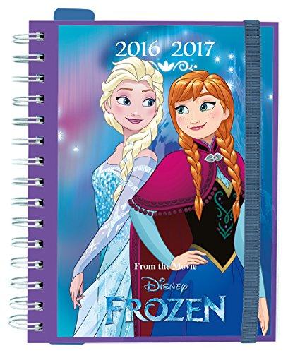 Grupo Erik Editores Frozen - Agenda escolar sv 2016/2017, 14.8 x 21 cm