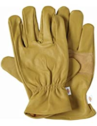 Dickies Gl0300 Unlined Leather Glove Tan Large