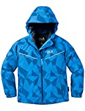 Jack Wolfskin Kinder Floating Ice Jacket Kids Jacke Wattiert, Brilliant Blue, 164