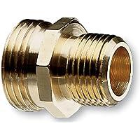 Nelson industriale in ottone per tubi e un tubo di raccordo femmina NPT 1/5,08 cm (2