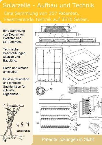 Solarzelle Aufbau und Technik: 357 Patente zeigen was dahinter steckt