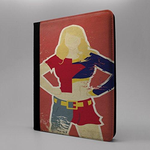Preisvergleich Produktbild Pop Art Tablet Flip Schutzhülle für Apple iPad Mini 1 2 & 3 – Supergirl Kara Zor-EL – s-t0080