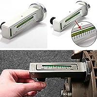 12.7x5CM DIY magnético del coche del automóvil Camber Castor puntal de horario de alineación de las ruedas Tool Kit Medidor Topker