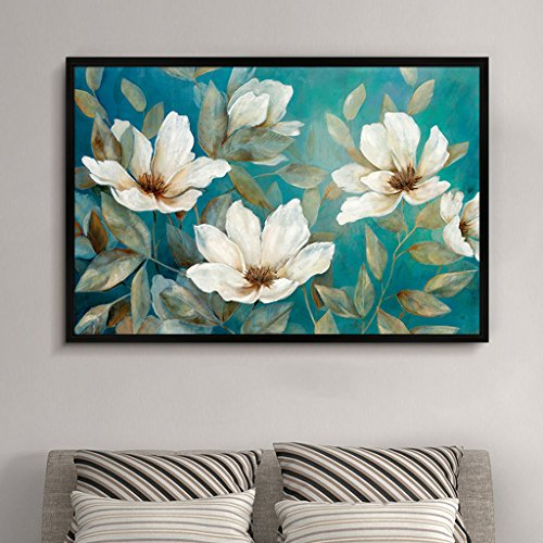 LFF.FF Moderne Minimalistische Dekorative Malerei American Style Wohnzimmer Sofa Schlafzimmer Malerei Pflanze Multicolor Inkjet Malerei,D,63 * 93CM - 93 Inkjet