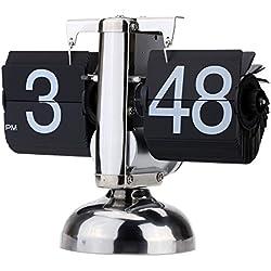 Anself HY-F001 - Reloj de cuarzo vintage,12h am/pm