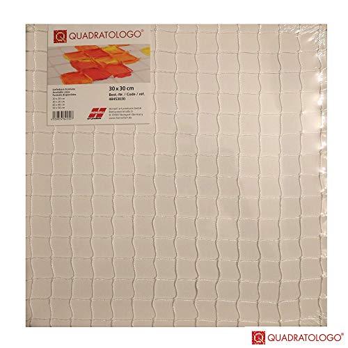 Quadratologo-Leinwand (30x30)