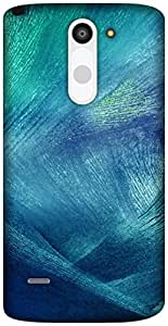 The Racoon Lean icy texture hard plastic printed back case / cover for LG G3 Stylus