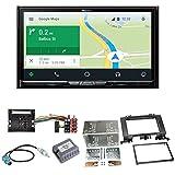 Pioneer AVIC-Z910DAB Navigation Digitalradio CarPlay Android Auto Bluetooth USB DAB+ CD DVD MP3 Einbauset für Mercedes Sprinter W906 Crafter