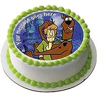 Scooby Too - Decoración comestible para tarta (19 cm), ...