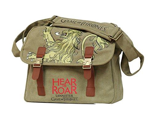 Game of Thrones Lannister Canvas Messenger Bag