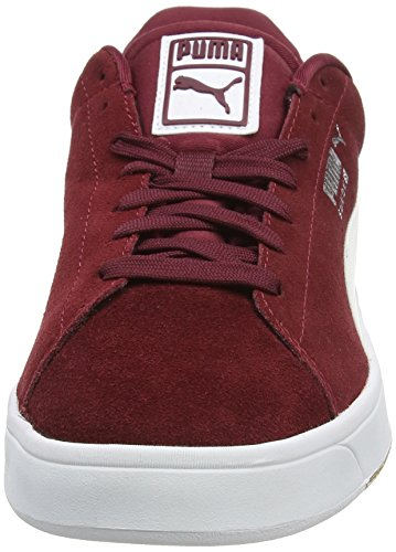 Puma Suede S, Sneakers basses homme Red (Cordovan/White)