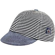 Kids Baby cappello classico da baseball a strisce per bambini 3e5dd7d68a69
