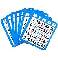 Huntar Spiel auseinanderzuhalten Bingo Karten (Farben können variieren)