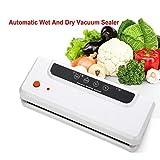 Commercial domestique FoodSaver automatique sous vide scellant machine utilisation facile | Modes secs et humides,White