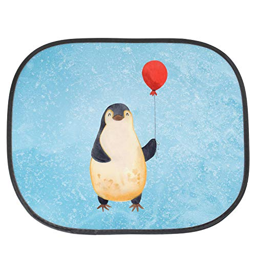 Mr. & Mrs. Panda Geschenk, Fenster, Auto Sonnenschutz Pinguin Luftballon - Farbe Eisblau (Leben Luftballons Größe)