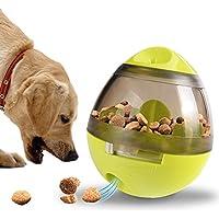 Juguetes interactivos comida lenta del animal doméstico, gato y dispensador de comida para perros.