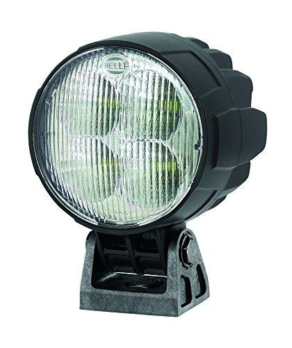 HELLA 1G0 996 263-031 LED Arbeitsscheinwerfer für stehenden Anbau, Schwenkfuss, mattschwarz,  Multivolt 12-24