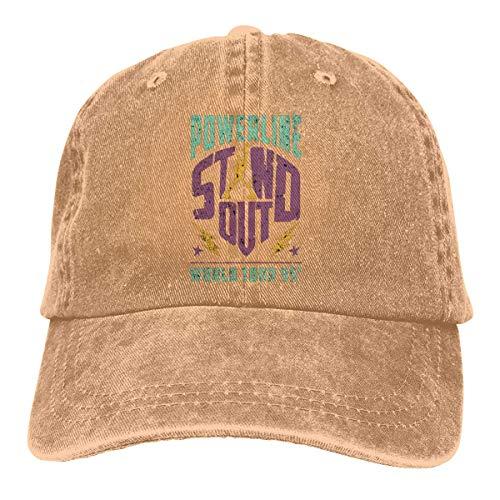 Preisvergleich Produktbild momnn Powerline - Stand Out - World Tour 95 Vintage Summer Cool Heat Shield Unisex Adult Cowboy Hat