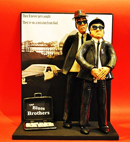figurita-action-figures-blues-brothers-bluesmobile-con-el-fondo-y-la-bolsa-con-dolares