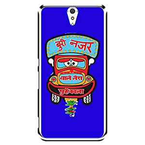"""MOBO MONKEY Designer Printed 2D Transparent Hard Back Case Cover for """"Sony Xperia C5 Ultra Dual"""" - Premium Quality Ultra Slim & Tough Protective Mobile Phone Case & Cover"""