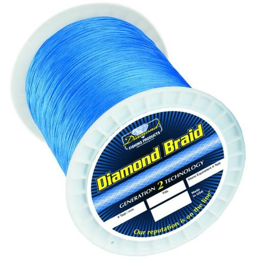 Momoi's Diamond Braid - 80lb. 600yd. Offshore Blue by Momoi