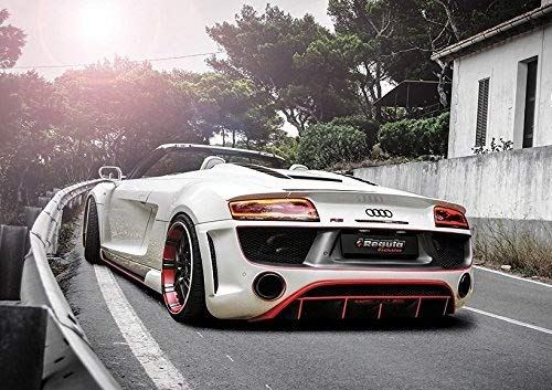 2014 Audi R8 V10 Spyder By Regula Tuning Supercar Poster (A1-841 x 594 mm)