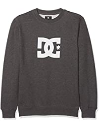 DC Shoes EDBSF03040, Sudadera Para Niños, Gris (Pirate Black Heather), 14/L