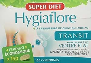 SuperDiet Hygiaflore Transit Ventre plat 150 comprimés