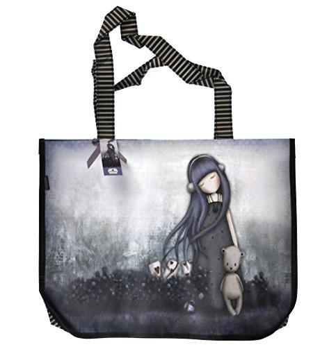 Dear Alice Gorjuss by Santoro Large Woven Shopper with purse by Gorjuss (Woven Shopper)