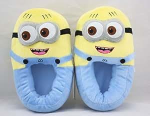 Despicable Me Minion Moi Moche Et Méchant Minion Slippers Shoe Jorge chaussons - Size 35-37