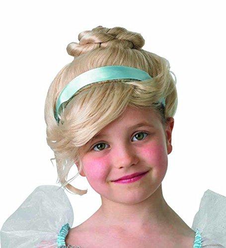 Unbekannt Générique pe998–Perücke Luxe Kinder Cinderella mit Dutt und Band Einheitsgröße