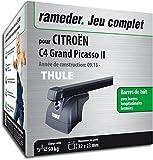 Rameder Pack Barres de Toit SquareBar pour CITROËN C4 Grand Picasso II...