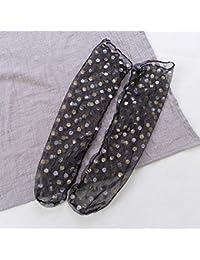 KWXHG Calcetines de Lana Neta Calcetines Calcetines Femeninos Coreanos Calcetines de Tul Transparentes de Verano Calcetines