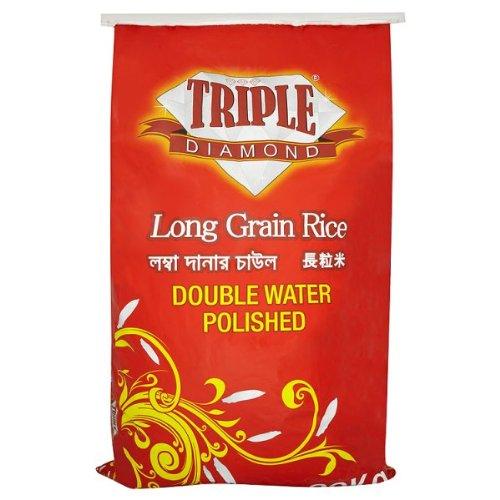 20 kg Triple Diamant Riz à grains longs