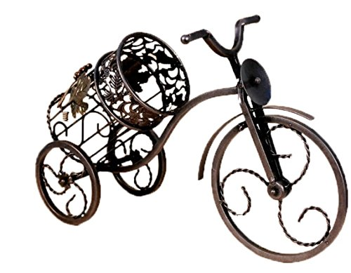 RTA Stilvolle Eisen Fahrrad Weinflaschenhalter zinntheken Weinflaschenhalter