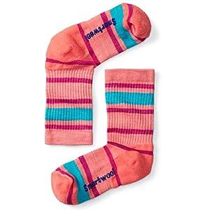 Smartwool Mädchen Kids' Striped Hike Light Crew Sock