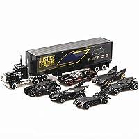 7Pcs Kid Bat Car War Chariots with Container Car Bat Car Model Set Toy for Children