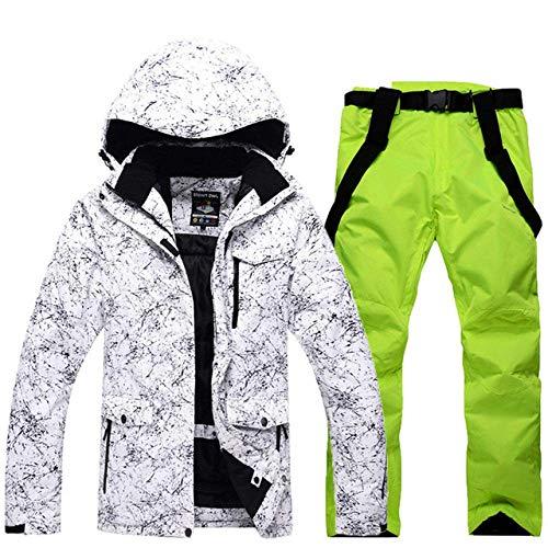 XYQY Ski Anzug Neue dickwarme Männer Frauen Paare Ski Anzug Winter Winddichte wasserdichte Ski anzüge männliche Snowboard Jacke Hose XL Farbe 3 -